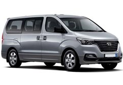 Hyundai H1 van for 5 passengers with luggage