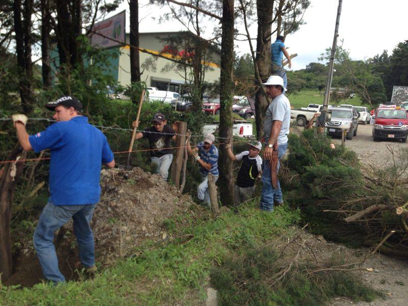Carretera a Monteverde