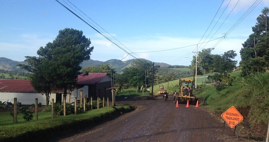 Monteverde Road Construction Update 2014