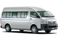 Toyota Hiace 9 passenger van