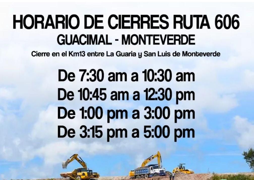 Monteverde Road Maintenance December 2017